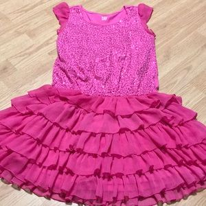Children place Girls Dress Size 10/12 pink